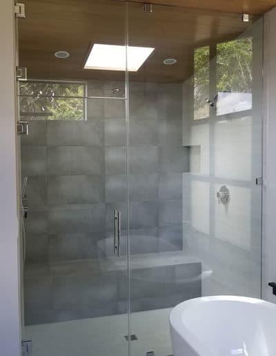 Shower Door Steam Shower